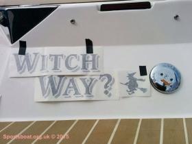 New boat graphics
